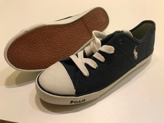 Zapatillas Polo Ralph Lauren De Lona Imp Usa 51esmeraldas