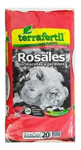 Terrafertil Sustrato Rosales 20lts