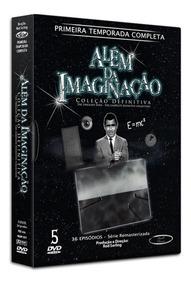 Dvd Alem Da Imaginação, Primeira Temporada Completa,5 Discos