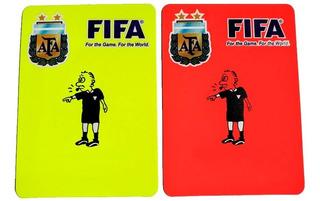 Tarjetas Para Arbitro - Juego De Tarjetas Para Referee
