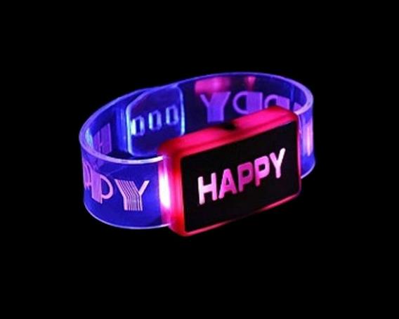 Pulsera Happy Luminosa Led