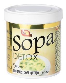 Sopa Detox - Legumes Com Queijo - 300g - Mosteiro Devakan