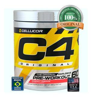 Pre Treino C4 Original Cellucor Importado 60 Doses Eua Venom