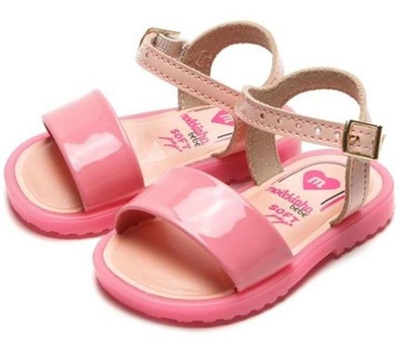 Sandalia Infantil Menina Fashion Verniz Molekinha 2700100