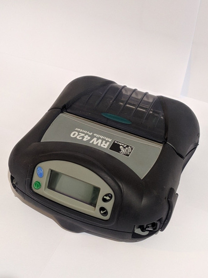 Impressora Térmica Portátil Zebra Rw420 203 Dpi