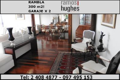 Venta De Apartamentos 4 Dormitorios En Pocitos, Garaje X 2