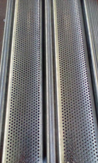 Perfiles Microperforados Galvanizados Para Santamarias