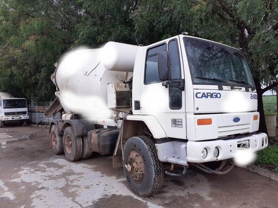 Caminhão Betoneira Ford Cargo 2425 - Ano 1998