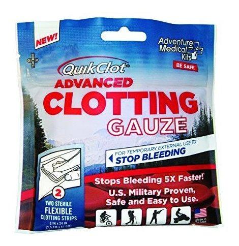 Adventure Medical Kits Quikclot Gasa, 5020-0016, Blanco, 1,