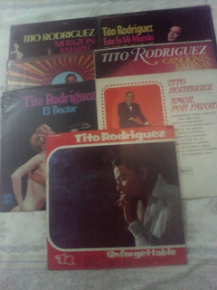 Tito Rodriguez Lp Nuevos En Su Empaque