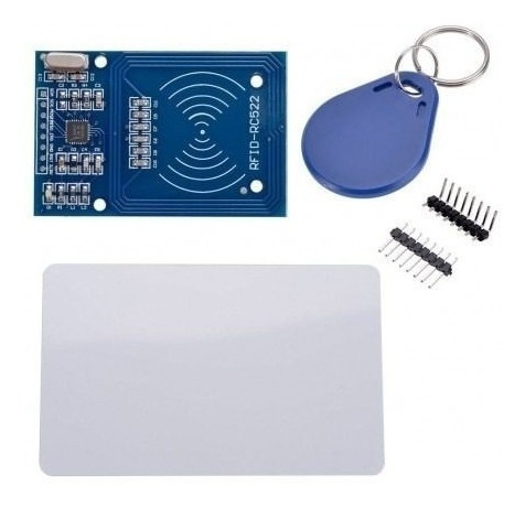 Kit Leitor Rfid Rc522 + Cartão + Tag Mifare 13.56mhz Arduino