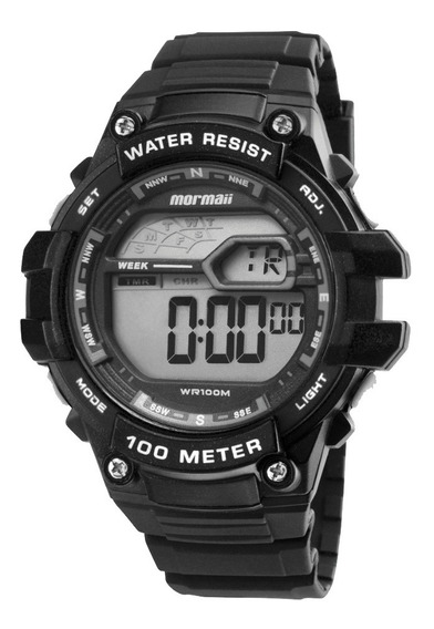 Relógio Digital Mormaii Mo3480a8k