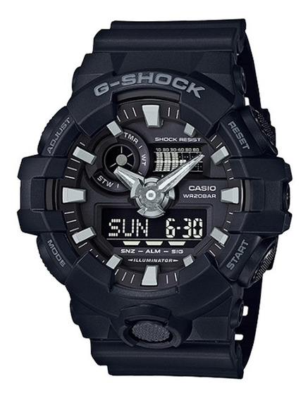 Relogio Casio Masculino G-shock Ga700 Nova Linha Ga700-1b