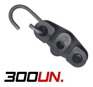 Esticador Drop Para Fio Fe Cabo Utp Rj45 - Com 300 Unidades