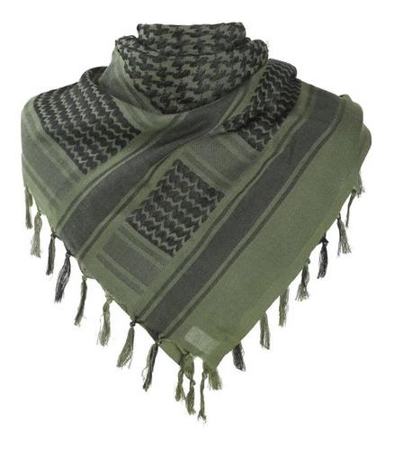 Imagem 1 de 3 de Lenço Tático E Militar Shemagh Ntk Tático Od Verde Oliva