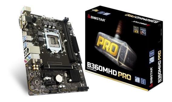 Placa Mãe Biostar B360mhd Pro Intel 8ª Geração 1151 Ddr4