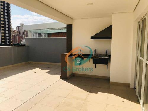 Imagem 1 de 19 de Apartamento Garden Com 3 Dormitórios À Venda, 171 M² Por R$ 1.055.000 - Tatuapé - São Paulo/sp - Gd0020