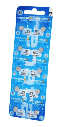 377 - Bateria Renata Oxido De Plata Bl X 10