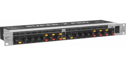 Crossover Behringer Cx3400 V2 Ecualizador Grabación