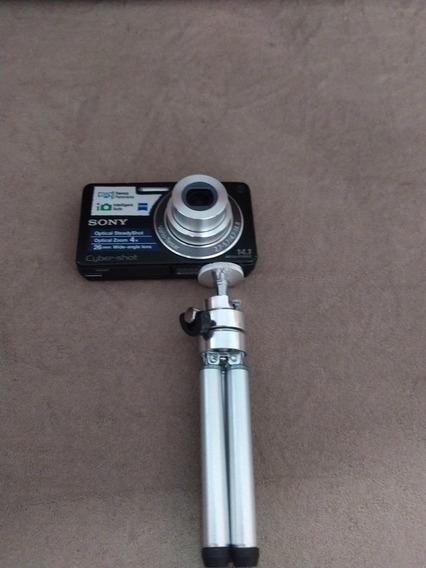 Câmera Cyber-shot 14.1 Mega Pixels + Tripé