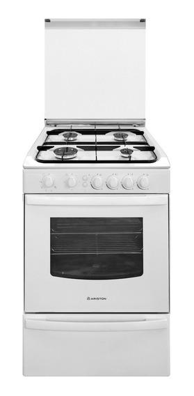 Cocina Ariston Cg 54s G1m (w) Blanca 55cm Gas Selectogar6