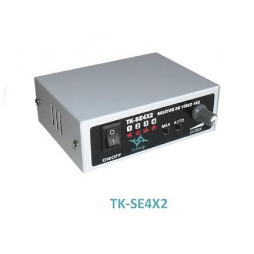 Sequencial Seletor De Vídeo 4x2 / P/cftv