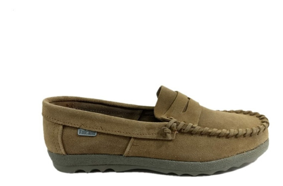 Zapatos Mocasin Gamuza Vulcano Colegial Unisex N° 34/44