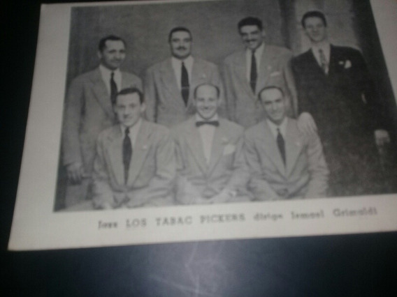 Foto Postal Los Tabac Pickers