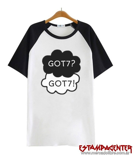 Got7 Kpop - Remera Ranglán Unisex - Hip Hop - Swag