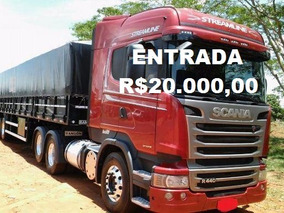 Scania R 440 Streamiline Engatado No Ls Ano 2015