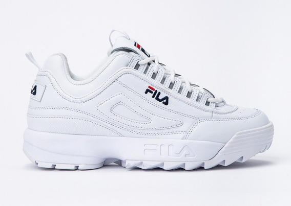 Zapatillas Fila Disruptor 2 Premium Blanca De Hombre