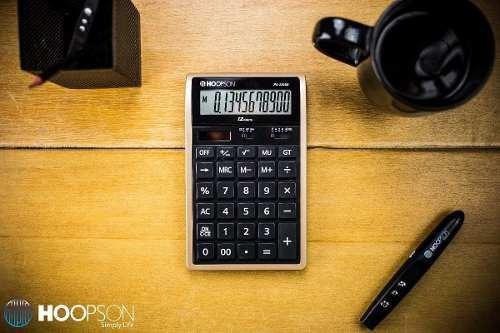 Calculadora Hoopson Pa2395b 12 Digitos