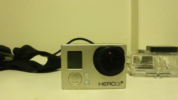 Câmera Esportiva Gopro Hero3+, Com Microsd 60gb - Seminova
