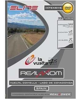 Dvd Trainer Elite Vuelta Conviella Lago De Covadonga