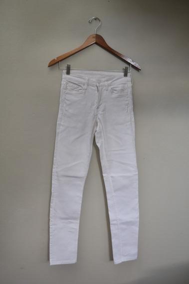 Pantalón Blanco - &denim - Talle 25
