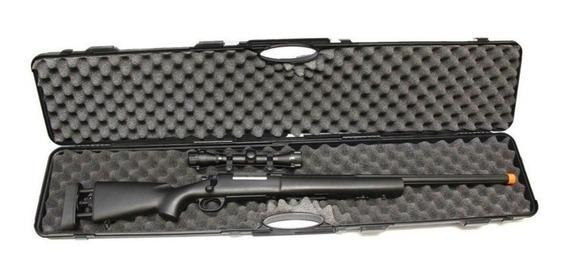 Maleta Case Rígida Rossi P/ Armas Longas -120x10x22cm