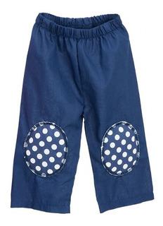 Pantalón Con Rodilleras Gateador Chiquimundo Azul