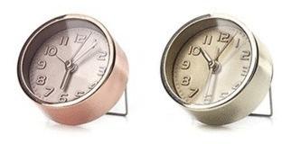 Gold And Copper Alarm Clocks: Reloj Despertador (ac10a)