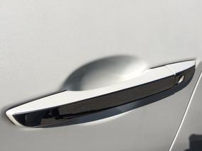 Filete Aço Inox Maçaneta P/ Civic 2017 Geração 10 Hcfm10