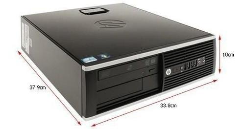 Imagem 1 de 2 de Cpu Hp 8200 Elite 1155 I3 2ª Geração 2gb 500gb Gravador Wifi
