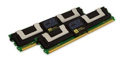 Memoria Ram 4gb Kingston (2x2gb Kit) Fully Buffered Ecc Ddr2 Sdram Modulo 4gb 333mhz Ddr2667/pc25300 Ddr2 Sdram 240pin D