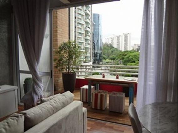 02967 - Flat 1 Dorm. (1 Suíte), Brooklin Novo - São Paulo/sp - 2967