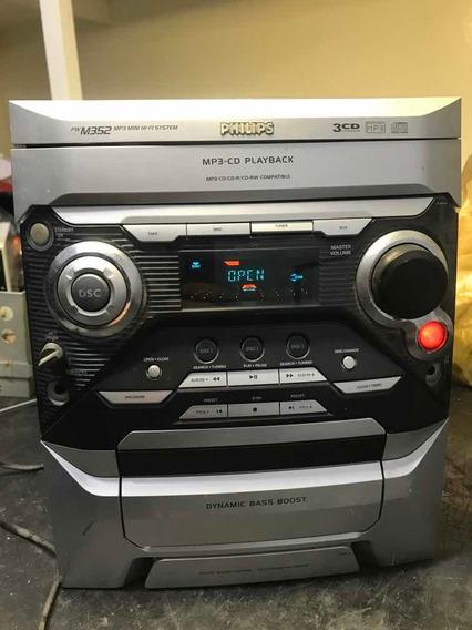 Cd Player Philips M352 Mod.fwm352/bk Inteiro Ou Em Peças