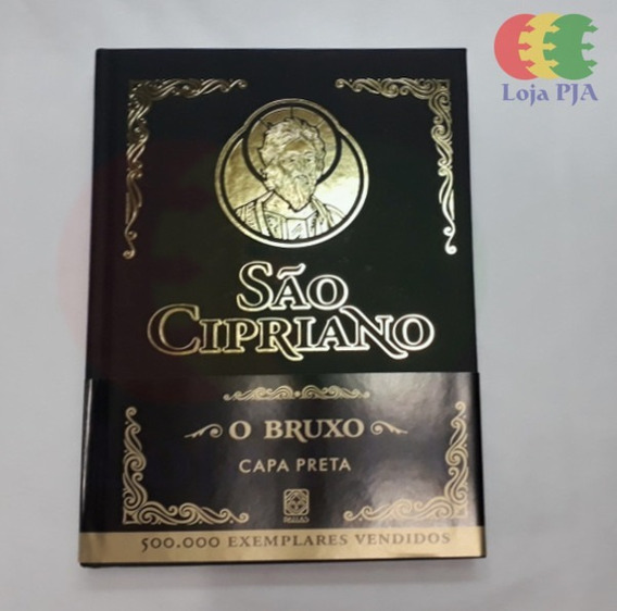 Livro São De Cipriano O Bruxo Capa Preta, Pacto (ed Pallas)