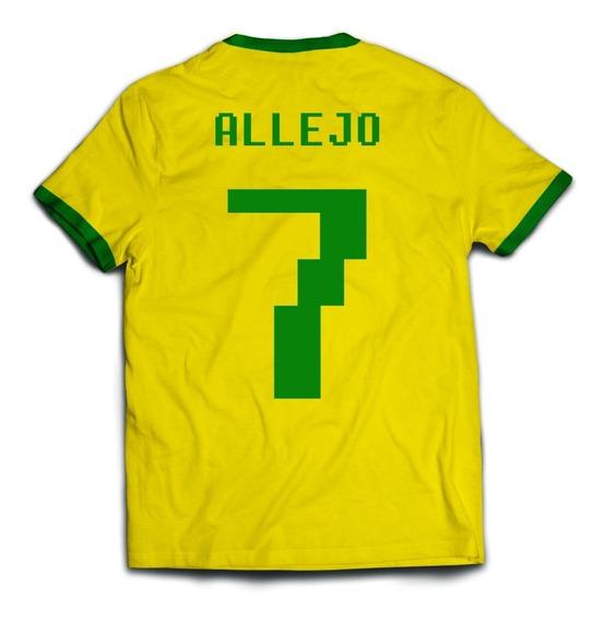 Camiseta Allejo - Futebol Super Nintendo