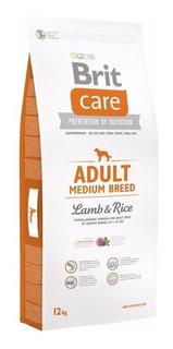 Brit Care Adult Medium Breed Lamb & Rice 12 Kilos Peso Neto.