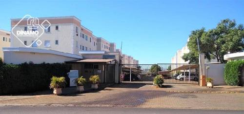 Apartamento Com 1 Dormitório À Venda, 45 M² Por R$ 110.000 - Parque Ribeirão Preto - Ribeirão Preto/sp - Ap3320