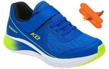 Tenis Masculino Infantil Energy Azul/verde 037 0002 0419