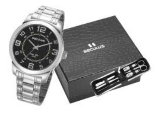 Relógio Masculino Seculus Analógico 23641g0svna1
