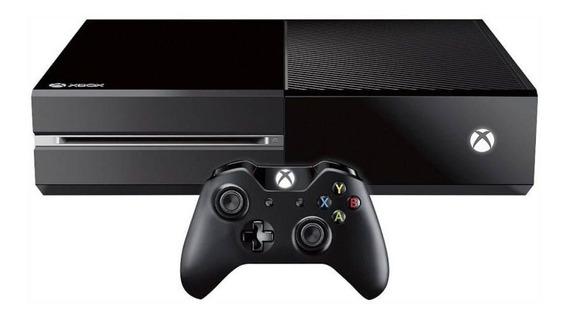 Console Microsoft Xbox One 500gb Fat - Preto